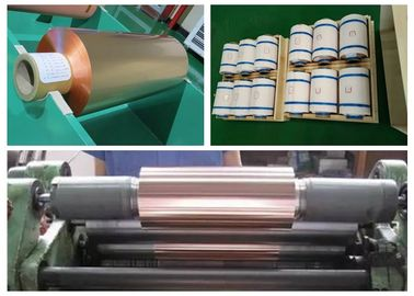 FPC / FCCL RA Copper Foil Sheet Roll , SGS 99.95% Purity Pure Copper Foil
