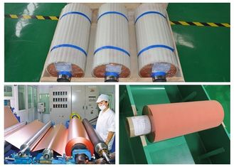 ISO 25um Electrolytic Copper Foil More Than 1 N / Mm Peel Strength