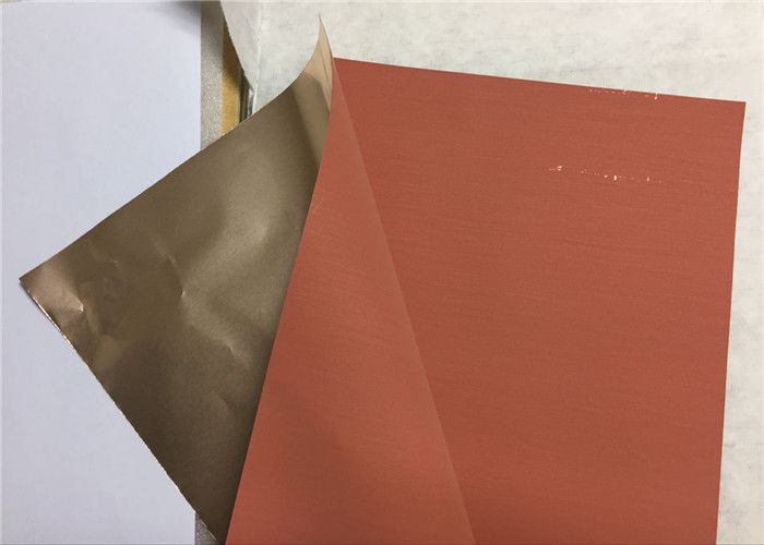Reddened Soft Copper Foil High Peeling Strength For PCB Production THB112