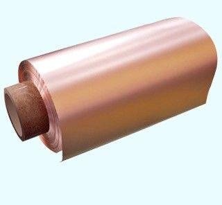 8um Thickness Thin Copper Foil Double Polished 480mm / 600mm Width 76mm ID