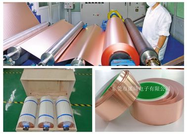 Thin Copper Foil Excellent Uniformity / Infiltration 500 - 5000m Length